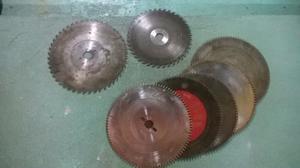 Hojas de sierras circulares para madera
