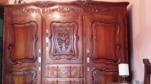 Juego de dormitorio antiguo estilo provenzal completo