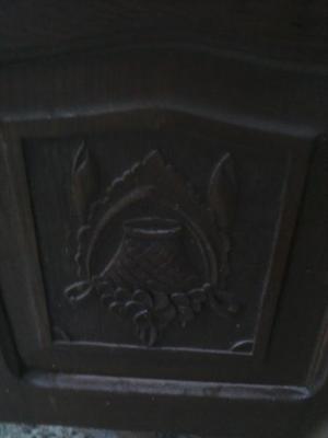 Ropero tres puertas de cedro