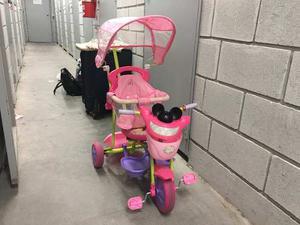 Triciclo Minnie Infantil Color Rosa, Buenisimo!