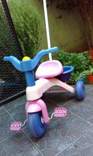 Triciclo Para Nenas Rondi En Excelente Estado Con Manijar