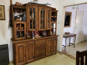 Vendo modular - aparador y mesa de tv rusticas