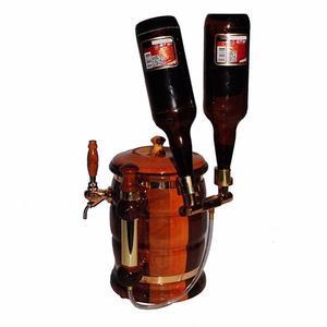 chopera de cerveza premium para 2 botellas