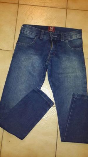 jean nena azul elastizado chupin t 10 impecable