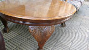Antigua mesa para living de estilo