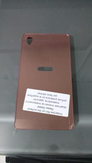 Funda espejada rosa Sony Xperia Z1
