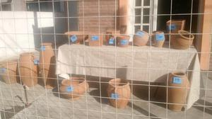 Vendo macetas para jardín