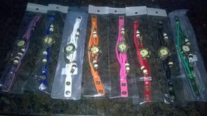 reloj pulsera de cuero por 20 unidades