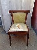 sillas francesas estilizado algunas flojas y cuerina rota