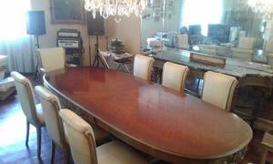Antigua mesa ovalada Francesa LUIS XVI