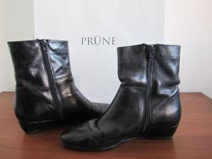 Botas PRUNE de Cuero - Talle 36 - IND.ARG