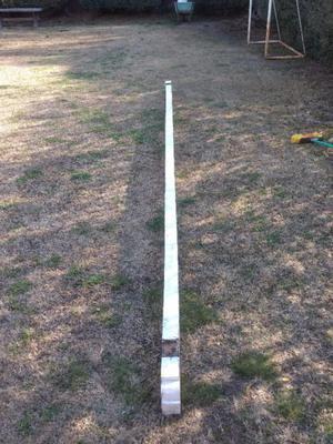 """Cabios 5"""" alto x """"2 ancho madera maciza de 5 metros de largo"""