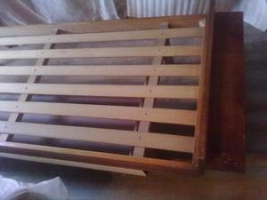 Camas madera muy resistentes de 1 y 2 plazas