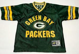 Camiseta Green Bay Packers Reversible Talle Niño Nfl