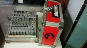 Consola De Sonido Behringer fx + Rack Anvil. O Permuto