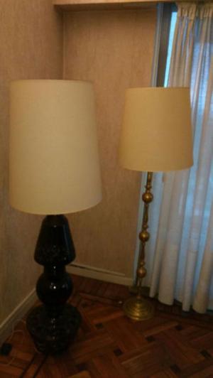 Dos lamparas de Pie
