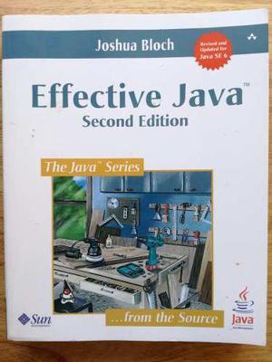 Effective Java - Joshua Bloch - En Belgrano