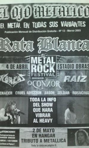 Fanzine El Ojo Metalico Nro.13