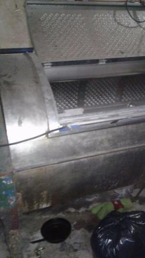 Lavadora industrial de 200 kilos de inoxidable