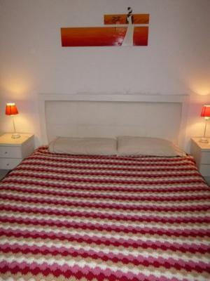 Manta a Crochet para cama de dos plazas y media