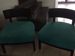 Mesa, sillas, mesa ratona, sillones tipo materos, mesas de