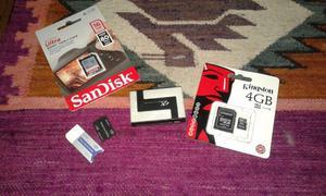 PACK DE MEMORIAS Y MULTILECTOR USB
