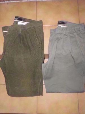 Pantalones Para Hombre Pinzados Kevingston- Talle 40