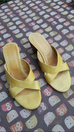 Sandalias de cuero Nº36