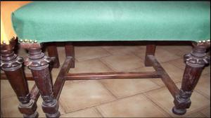 Excelentes par de antiguas sillas estilo ingles posot class - Sillas estilo espanol ...