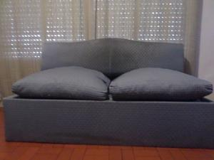 Sillón sofa cama de dos plazas