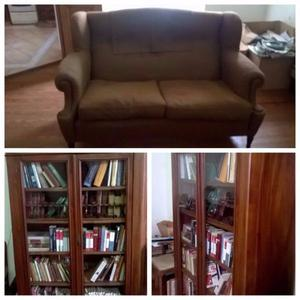 Sofa + Biblioteca