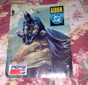 Vendo Album Dc Pepsi Cards Superheroes Completo