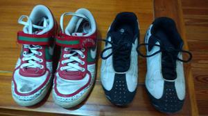 Zapatillas de mujer Nike y Fila