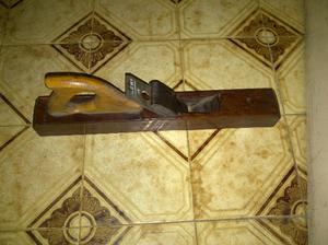 antiguo cepillo de carpintero marca anemi n*46