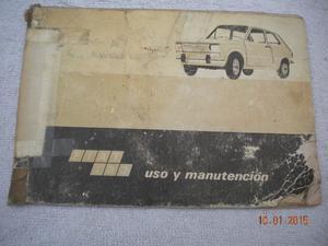 manual fiat 133