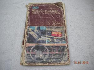 manual ford falcon