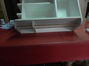 Alacena Porta Microondas, bodega, estantes. IMPECABLE!