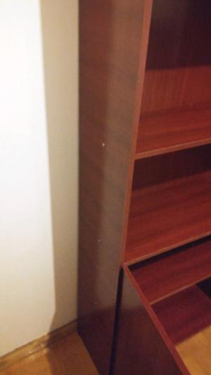 Biblioteca tres estantes y dos puertas