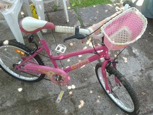 Bicicleta para niña rodado 20