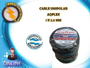CABLE UNIPOLAR 1 X 2.5 MM FUERZA ELECTRICA