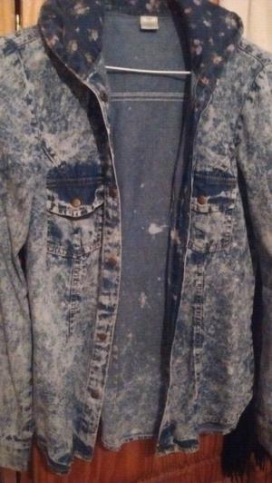 Camisa de jeans y jeans elastizado nuevo