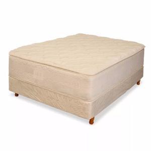 Juego Colchon Y Box Espuma Alta Densidad 140x190 Hotsale