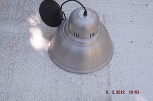 LAMPARA DE TECHO EN ALUMINIO PULIDO
