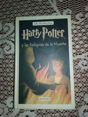 Libro 7 Harry Potter y las Reliquias de la Muerte Perfecto