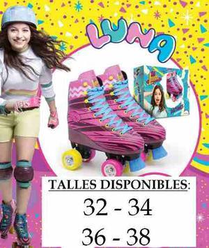 Patines Soy Luna Profesionales Originales Disney