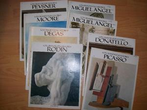 Revistas de la colección Los Grandes Escultores