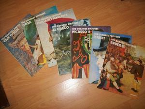 Revistas de la colección Los Grandes Pintores
