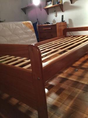 Soportes madera cama + cama marinera