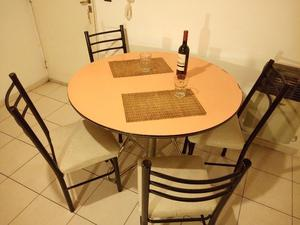 Comedor Mesa 4 Sillas Capital Federal Y Gba Posot Class