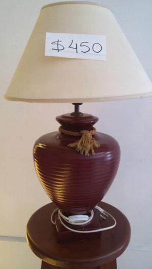 VENDO LAMPARA DE CERAMICA